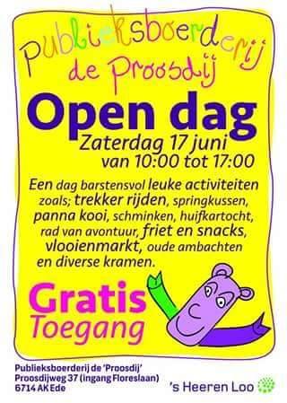 Opendag Proosdijpark